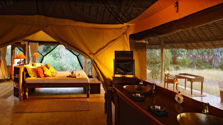 Tanzania Selous Game Reserve Siwandu Zelt