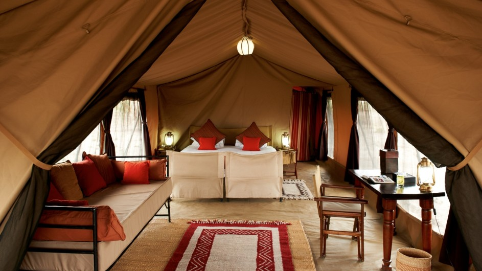 Tanzania Serengeti Olakira Camp Zelt