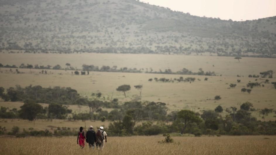 Tanzania Serengeti Kleins Camp Fusspirsch