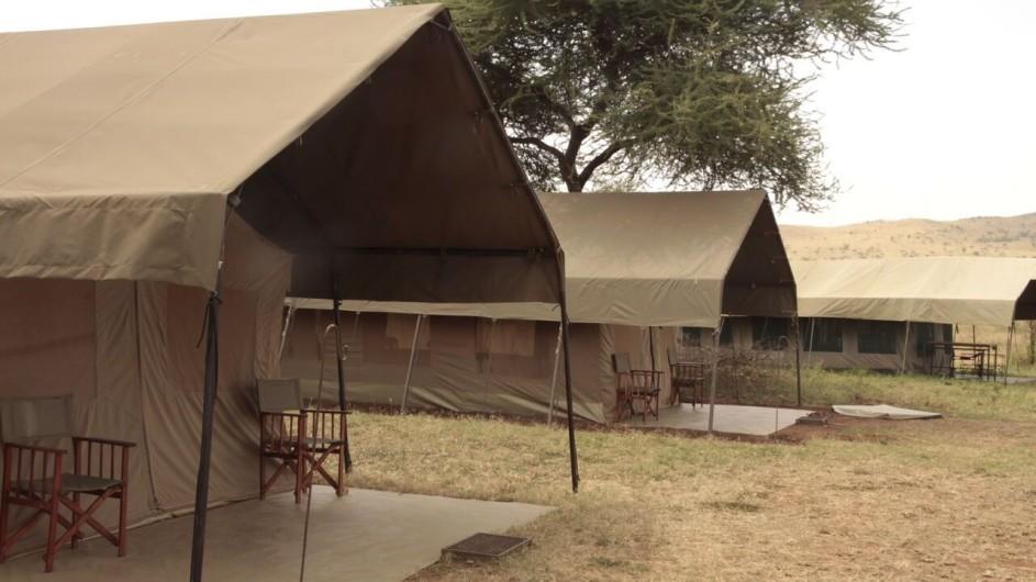 Tanzania Serengeti Ronjo Camp Zelte