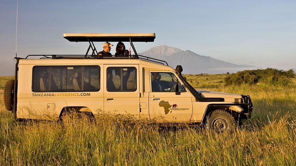 Tanzania Experience Fahrzeug