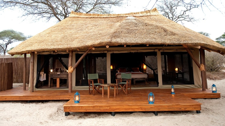 Tanzania Trangiere Nationalpark Olivers Camp Zelt