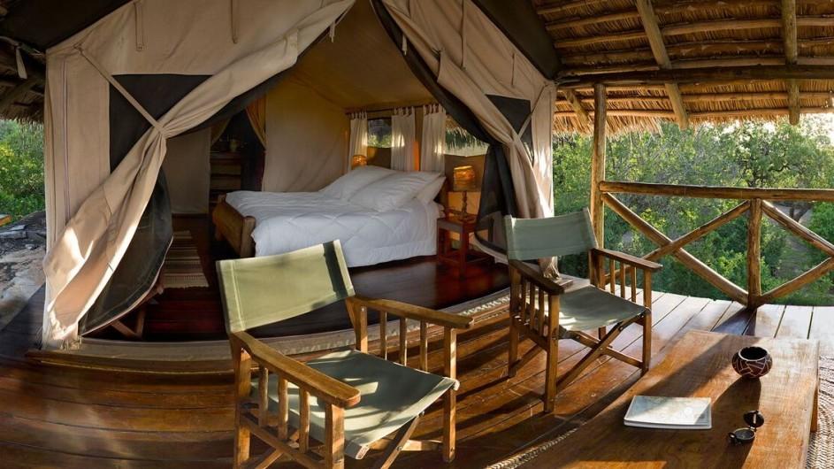 Tanzania Tarangiere Nationalpark Maweniga Camp Zelt