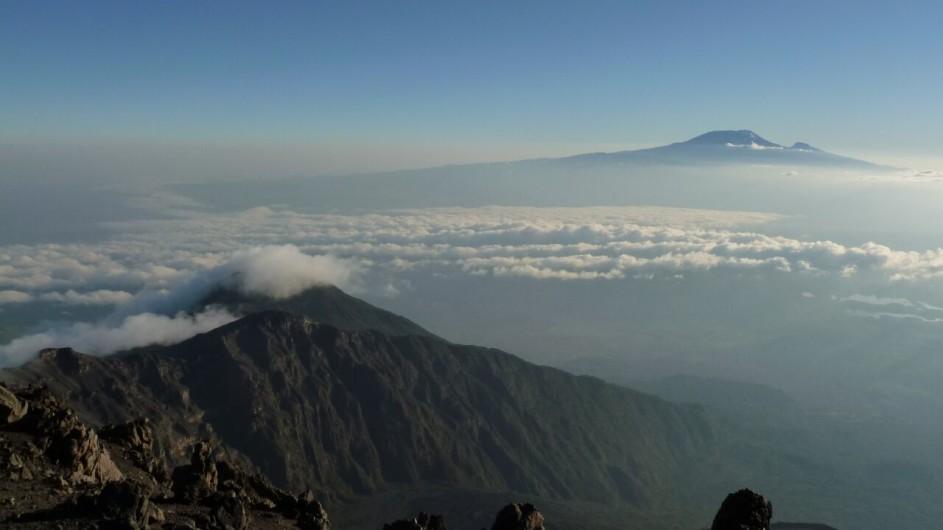 Tanzania Kilimanjaro Trekking Ausblick