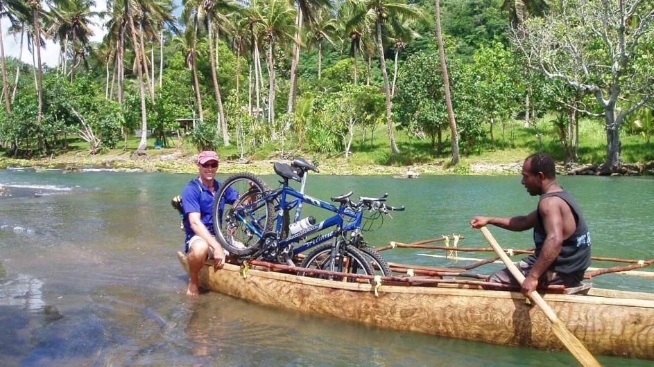 Vanuatu Efate Ecotours Fahrradausflug
