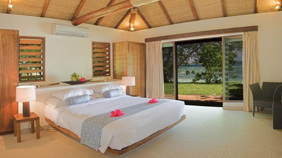 Vanuatu Eratap Resort Schlafzimmer Villa