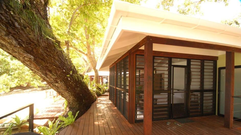 Vanuatu Espiritu Santo Moyyan House Zimmer aussen