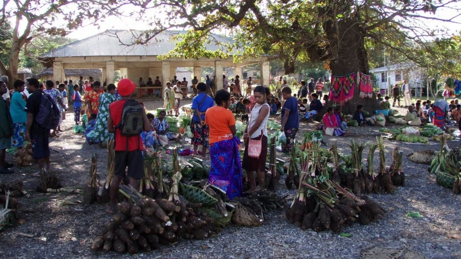 Vanuatu Tanna markt in Lenakel