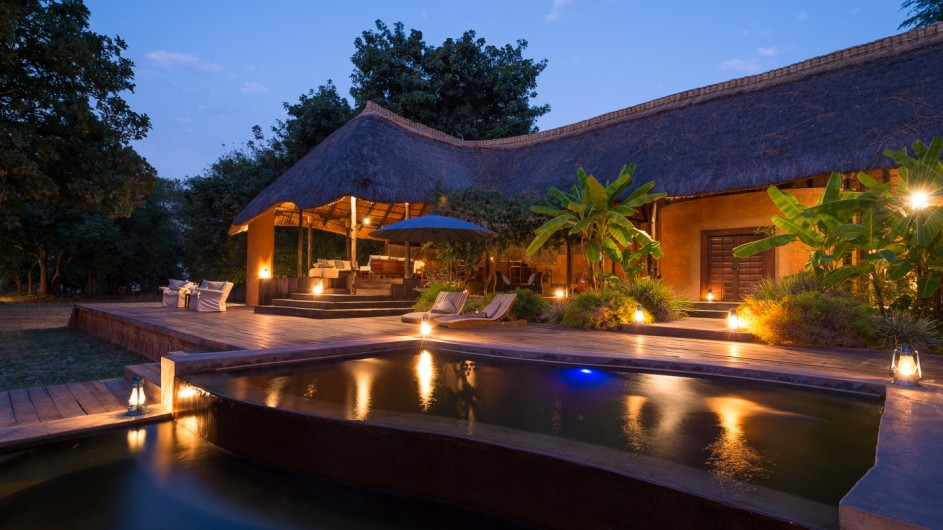 Zambia Luangwa River Camp Haupthaus