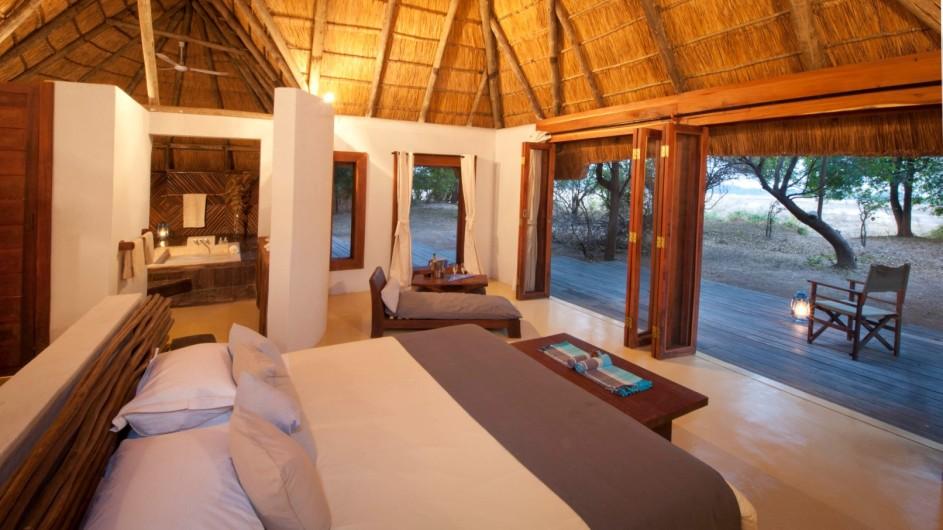 Zambia Luangwa River Camp Zimmer