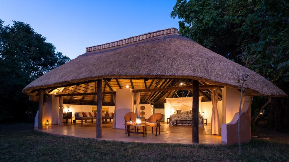 Zambia Nkwali Zimmeransicht
