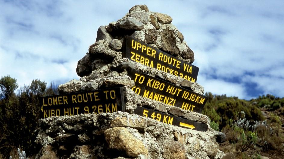 Tanzania Kilimanjaro Trekking Wegweiser