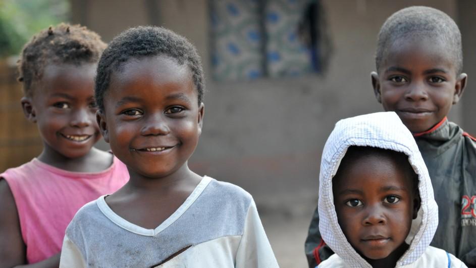 Malawi Kinder in Afrika