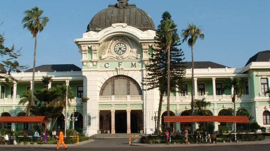 Mozambique Maputo Bahnhof