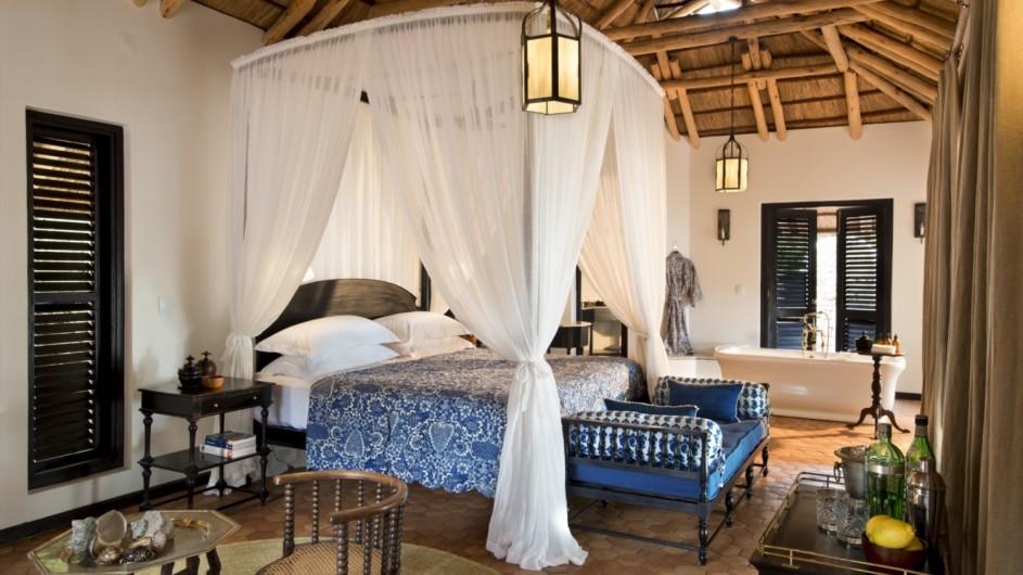 Mozambique Benguerra Island Lodge Casinah innen
