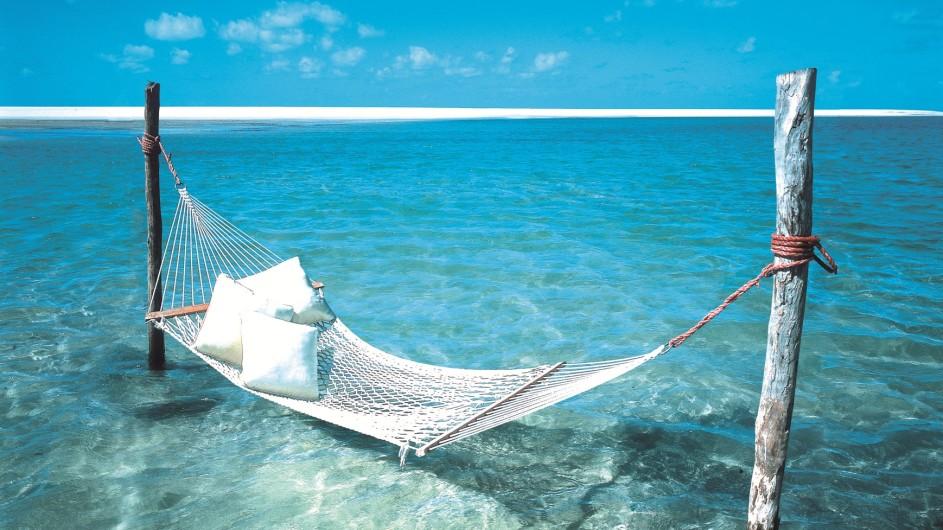 Mozambique Anantrara Resort & Spa Bazarutu Island Hängematte