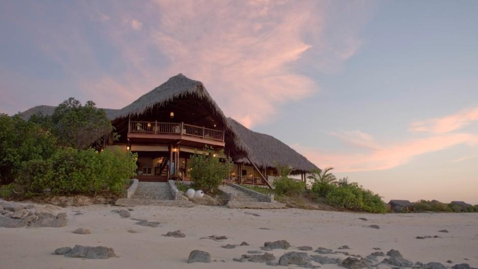 Mozambique Anantara Resort Medjumbe Island Beach Haupthaus