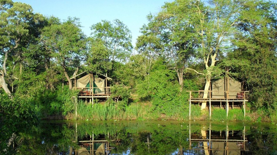 Mozambique Limpopo Nationalpark Machampane Wildneress Camp