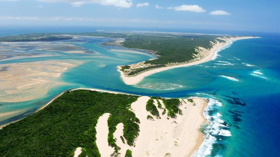 Mozambique Santa Maria Peninsula Machangulu Beach Lodge Umgebung