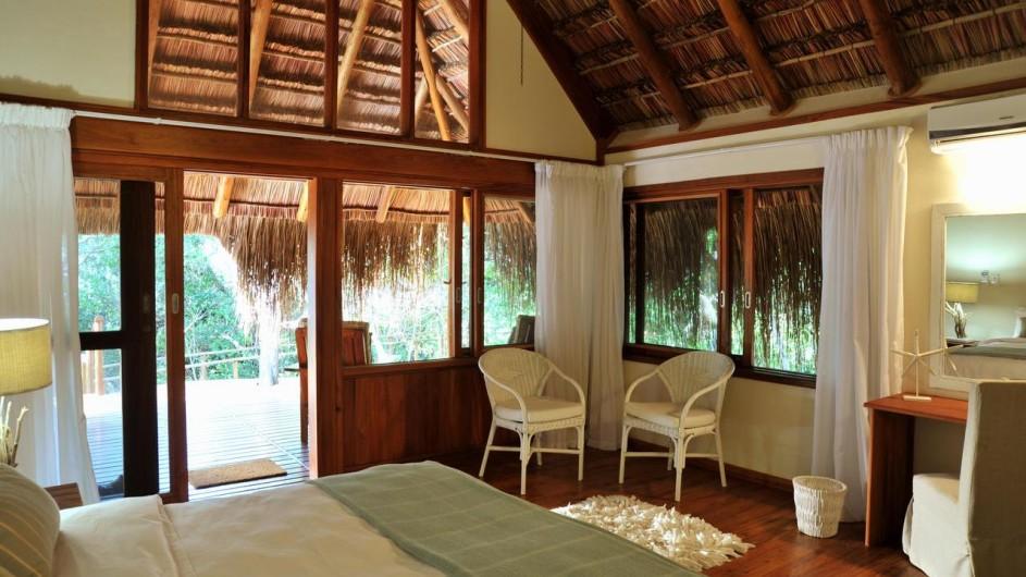 Mozambique Santa Maria Peninsula Machangulu Beach Lodge Beach Villa Zimmer