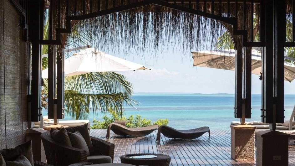 Mozambique Anantrara Resort & Spa Bazarutu Island Spa Lounge