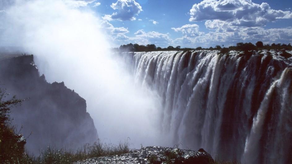 Zambia Victoria Wasserfälle Livingstone