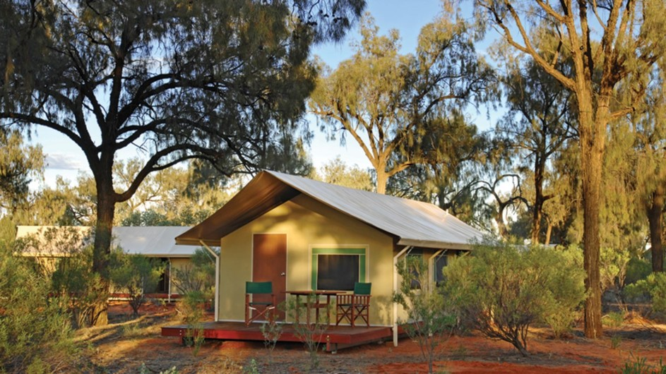 Australin Kings CAnyon Wilderness Lodge Zelt Ansicht