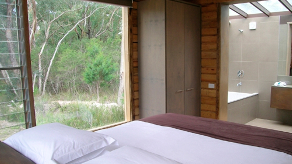 Australien Grampian Nationalpark DULC Holiday Cabins Bush Cabin