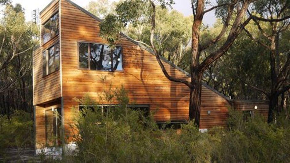 Australien Grampian Nationalpark DULC Holiday Cabins Außenansicht