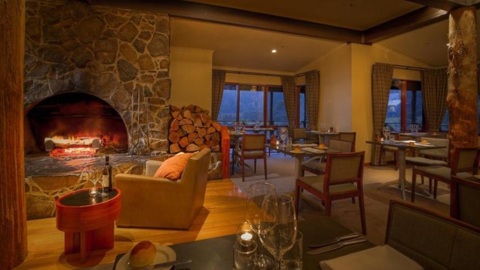 Australien Tasmanien Peppers Cradle Mountain Lodge Restaurant