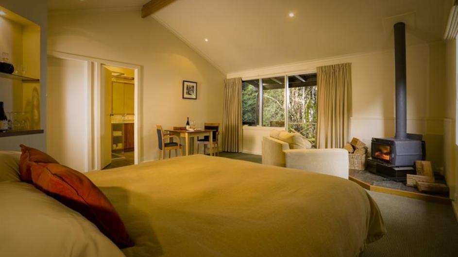 Australien Tasmanien Peppers Cradle Mountain Lodge Spa Suite