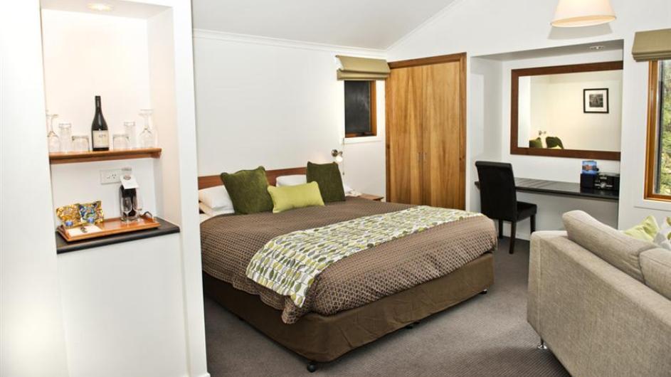 Australien Tasmanien Peppers Cradle Mountain Lodge Zimmer