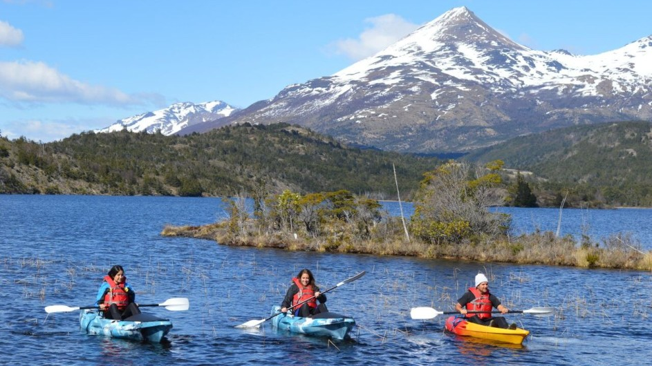 Chile Torres del Paine Patagonia Camp Kayak Ausflug