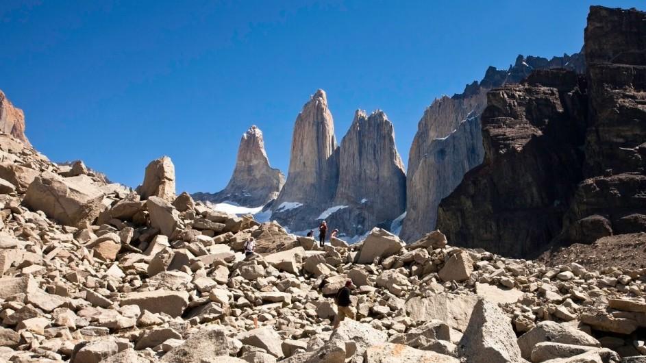 Chile Torres del Paine Patagonia Camp Mirador Torres Ausflug