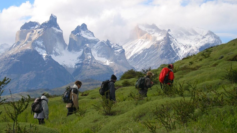 Chile Torres del Paine Patagonia Camp Wanderung