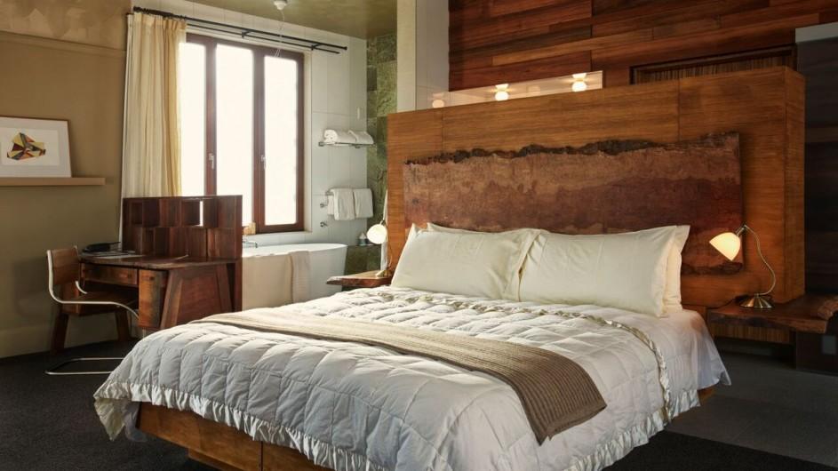 Neuseeland Kaikoura Hapuku Lodge Suite Schlafzimmer