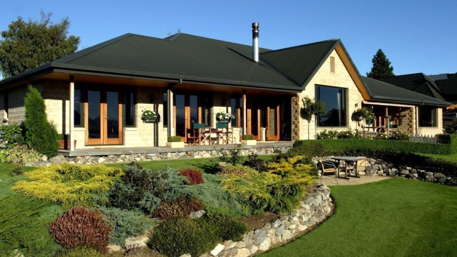 Neuseeland Lake Tekapo Luxury Lodge Ansicht