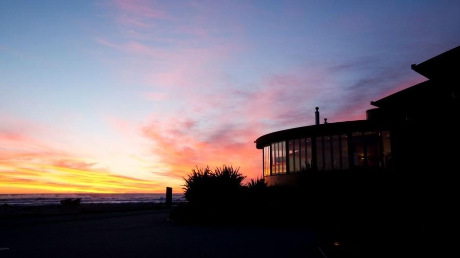 Neuseeland Westküste Punakaiki Resort Außenansicht