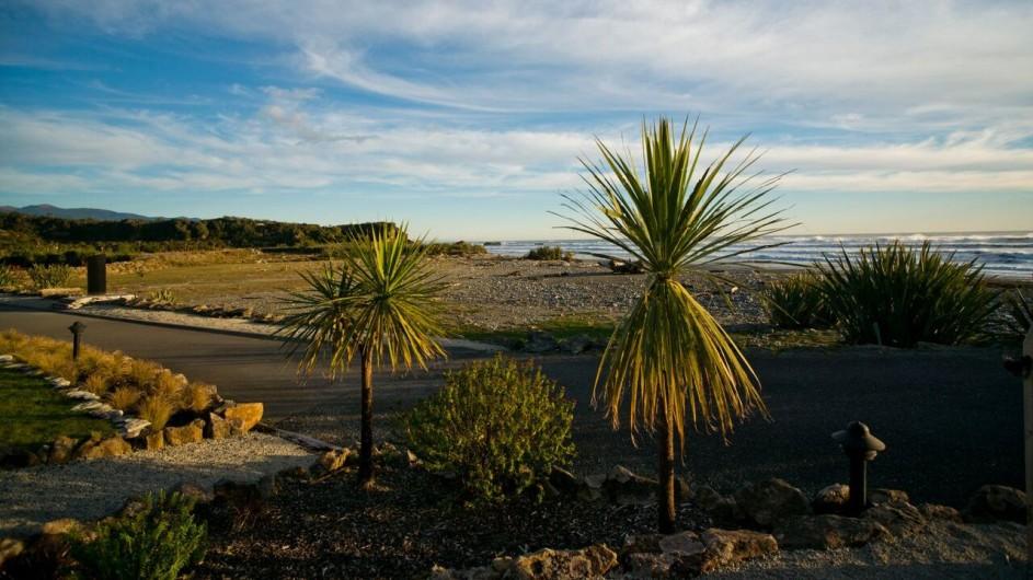 Neuseeland Westküste Punakaiki Resort Garten