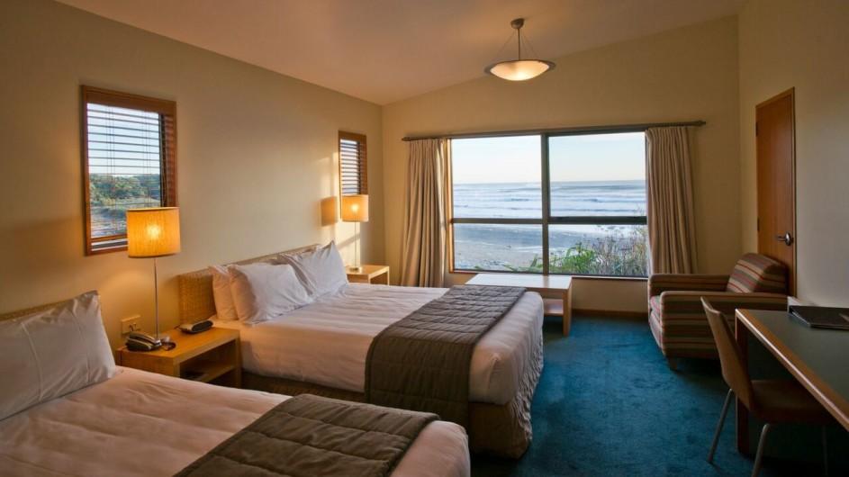 Neuseeland Westküste Punakaiki Resort Meerblick Zimmer