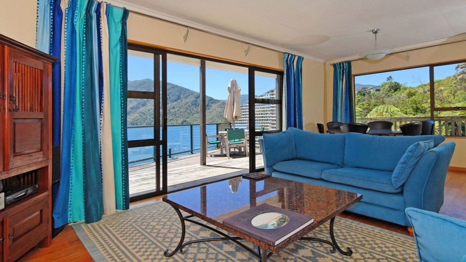 Neuseeland Marlborough Sound Punga Cove Resort Penthouse Suite