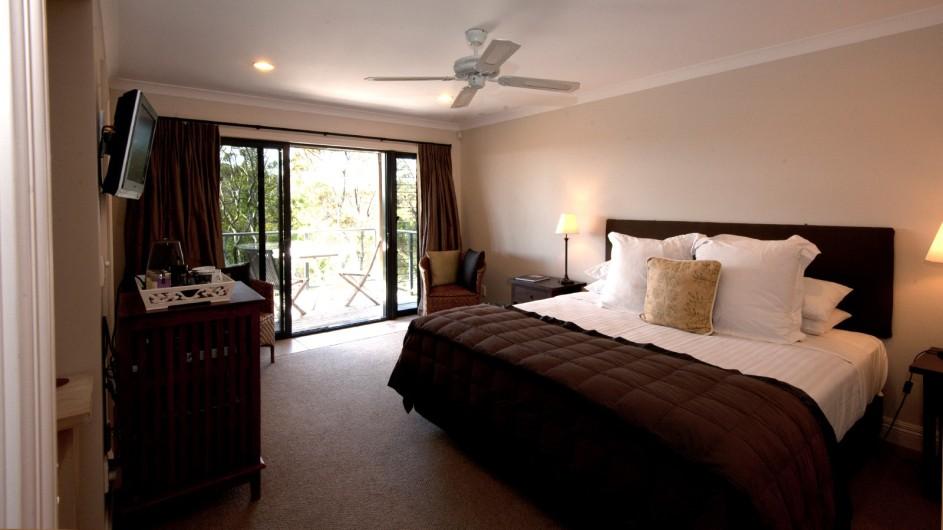 Neuseeland Sanctuary Bay of Islands Lodge Gästezimmer