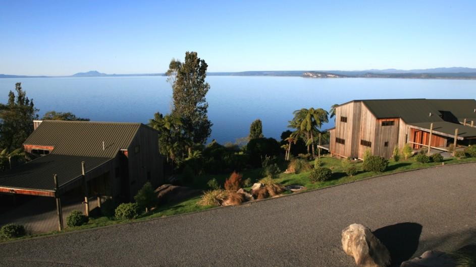 Neuseeland Turangi Oreti Village Außenansicht