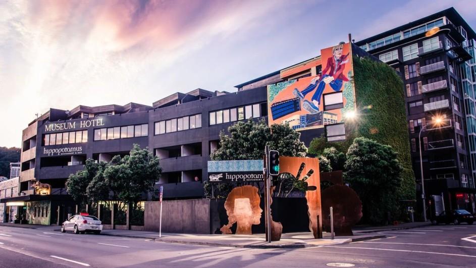 Neuseeland Wellington Museum Hotel Außenansicht