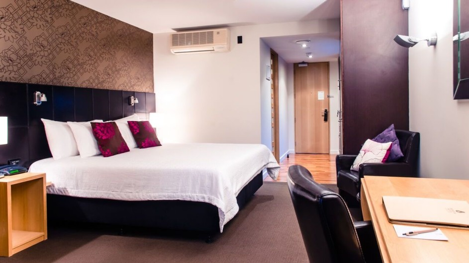 Neuseeland Wellington Museum Hotel Executiv King Studio