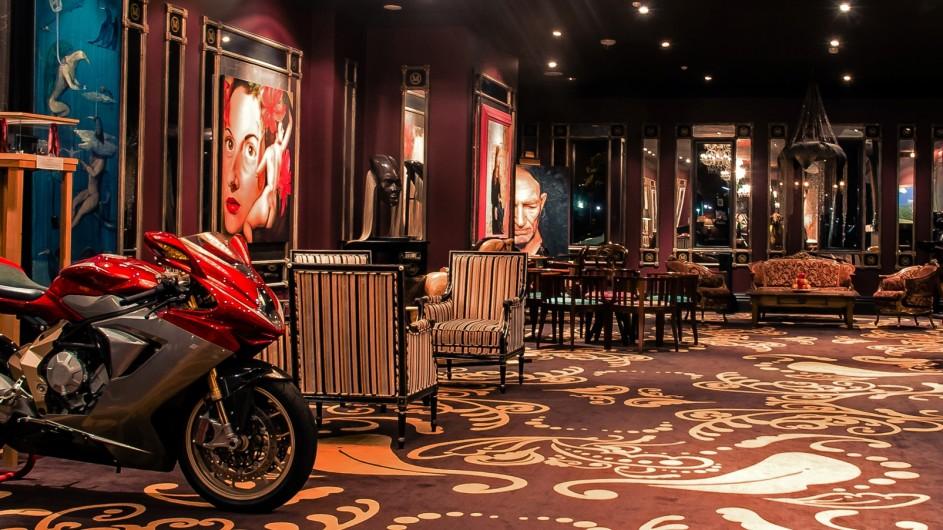 Neuseeland Wellington Museum Hotel Lobby