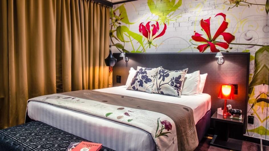 Neuseeland Wellington Museum Hotel Superior King Zimmer