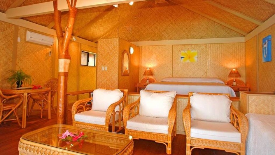 Cook Inseln Aitutaki Lagoon Resort Deluxe Strand Bungalow