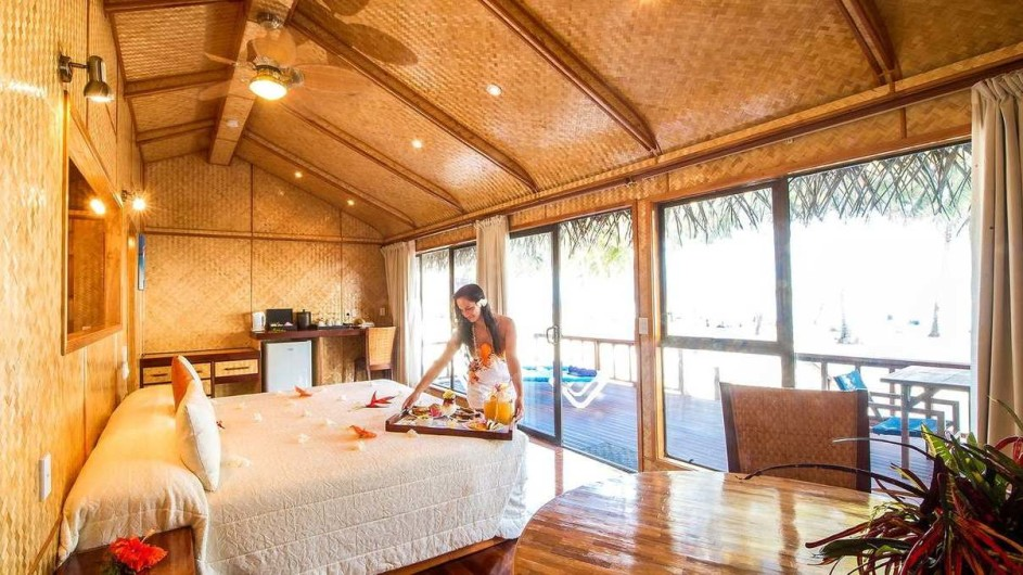Aitutaki Lagoon Resort Spa Overwater Bungalow
