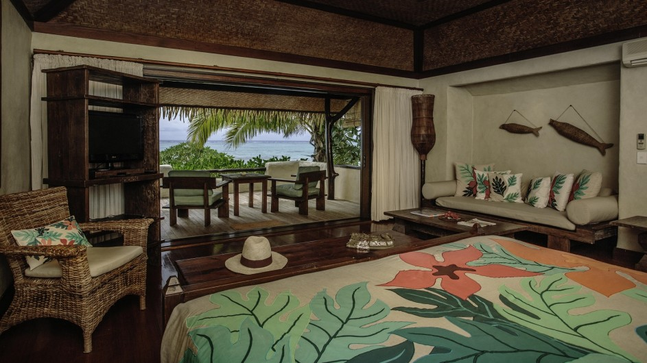 Cook Inseln Pacific Resort Aitutaki Premium Strand Bungalow